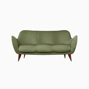 Canapé Perla Vert par Giulia Veronesi pour ISA Bergamo, Italie, années 50