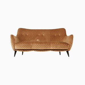 Italian Pearl Sofa by Giulia Veronesi for ISA Bergamo, 1950s