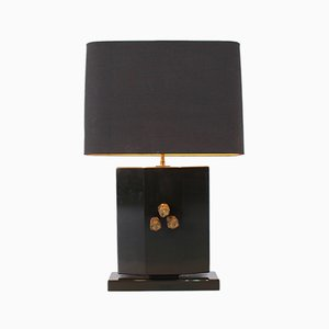 Bronze Table Lamp, 1970s