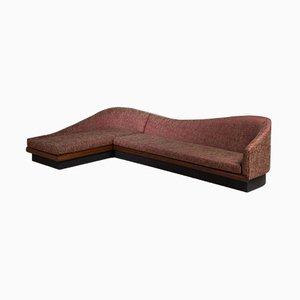 Geschwungenes amerikanisches Sofa von Adrian Pearsall für Craft Associates, 1950er