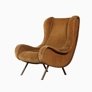 Italian Senior Lounge Chair by Marco Zanuso for Arflex, 1960s