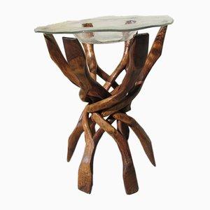 Vintage Entrecoisées Side Table, 1940s