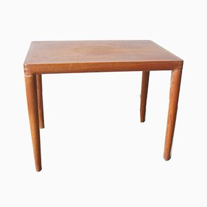 Table Basse en Teck par H. W. Klein pour Bramin, 1950s