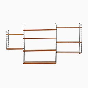 String Wall Unit by Kajsa & Nisse Strinning for String, 1960s