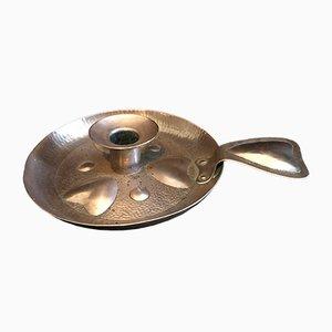 Antiker Kerzenständer aus Kupfer von AFN