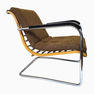 Bauhaus Armchair by Werner Max Moser for Wohnbedarf, 1930s