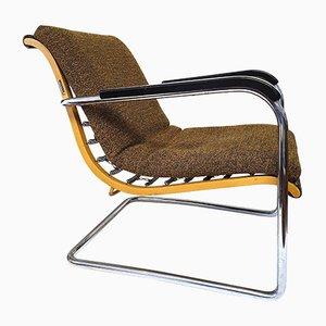 Bauhaus Sessel von Werner Max Moser für Wohnbedarf, 1930er