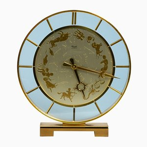Brass Clock from Kienzle, 1970s