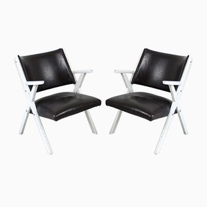 Armchairs from Dal Vera, 1960s, Set of 2