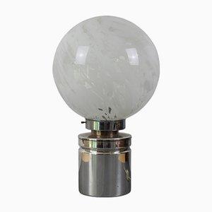 Lámpara de mesa de cristal de Murano, años 60