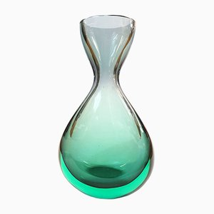 Murano Glass Vase by Flavio Poli for Seguso Vetri d'Arte, 1960s