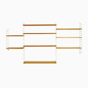 String Wandregal von Kajsa & Nisse Strinning für String, 1960er
