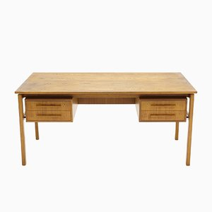 Teak Executive Desk from Imha Møbelfabrik, 1960s