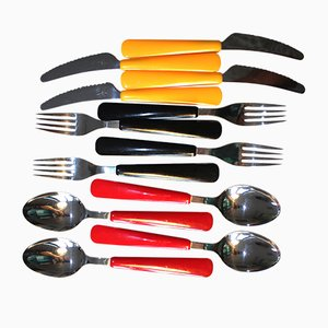 Cutlery Set from Swissline Wenger, 1960s, Set of 12