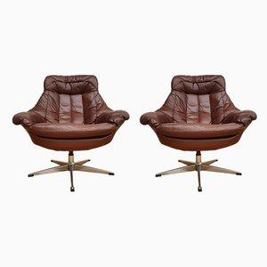 Butacas danesas de H. W. Klein para Bramin, años 70. Juego de 2