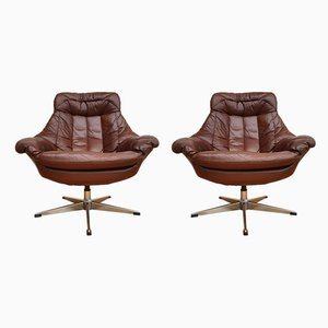Danish Armchairs by H. W. Klein for Bramin, 1970s, Set of 2