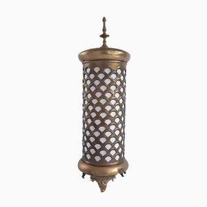 Lámpara de mesa Art Déco de latón, años 30