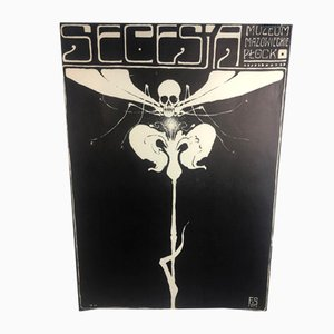 Vintage Museum Poster by Franciszek Starowieyski, 1973