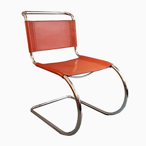 MR 10 Dining Chair by Ludwig Mies van der Rohe, 1970s
