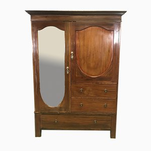 Vintage Mahogany Cabinet Wardrobe