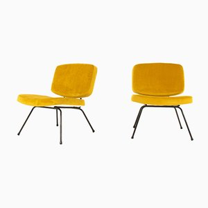 CM190 Lounge Chairs by Pierre Paulin for Thonet, 1950s, Set of 2