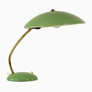 Green Model 6781 Table Lamp by Christian Dell for Kaiser Idell, 1950s