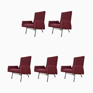 Sitzgruppe von Luigi Paolozzi für Zol, 1950er, 5er Set
