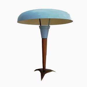 Lampada da tavolo vintage di Louis C. Kalff per Philips, anni '40