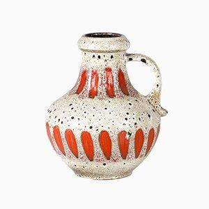 Große Fat Lava Vase von Scheurich, 1970er
