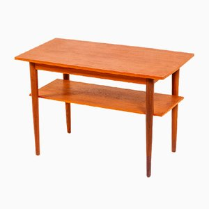 Danish Teak Side Table, 1960s