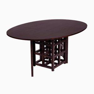 Tavolo da pranzo di Charles Rennie Mackintosh per Cassina, anni '70