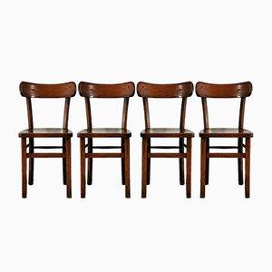 Vintage Esszimmerstühle von Luterma, 4er Set