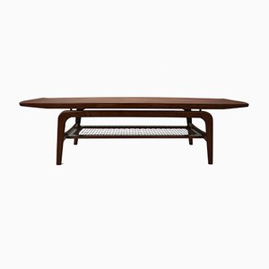 Danish Teak Coffee Table by Arne Hovmand-Olsen for Mogens Kold, 1960s