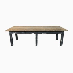 Mid-Century Rustic Farm Table