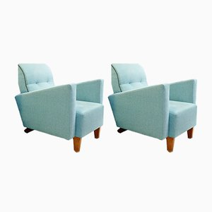Vintage French Armchairs, Set of 2