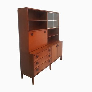 Mid-Century Teak Wall Unit from TopForm, 1960s