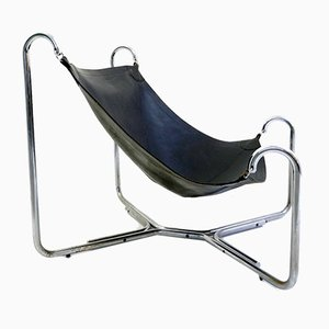 Vintage Italian Mustache Lounge Chair by Gianni Pareschi And Ezio Didone for Busnelli