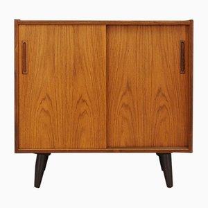 Mueble danés vintage con chapa de palisandro, años 70