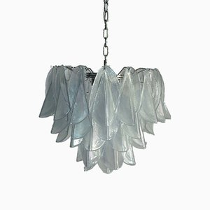 Italian Murano Glass Chandelier from Mazzega, 1972