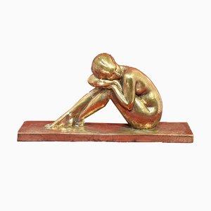 Skulptur aus Bronze von Amedeo Gennarelli, 1930er