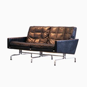 Danish Model PK31/2 Sofa by Poul Kjærholm for E. Kold Christensen, 1960s