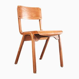 Stacking Dining Chair by James Leonard for ESA, 1950s