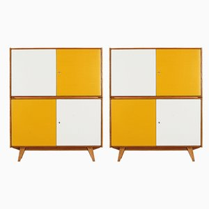 Stackable Cabinets by Jiří Jiroutek for Interier Praha, 1960s, Set of 2