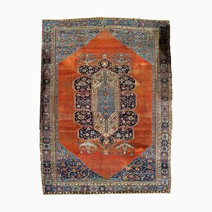 Antique Middle Eastern Bakshaish Rug