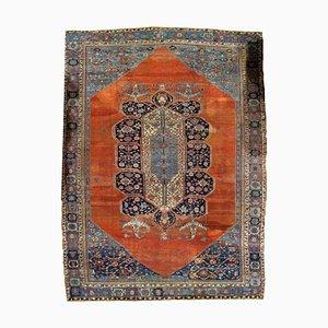Antique Middle Eastern Bakshaish Rug