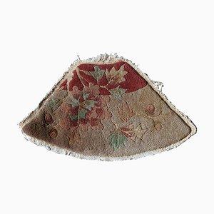 Alfombra china de lana beige, años 20