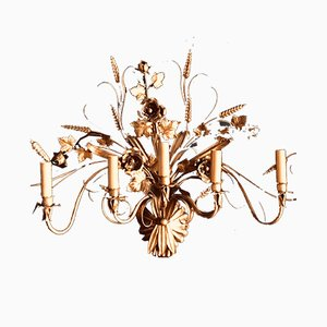 Large Italian Sconce by S. Salvadori, 1950s
