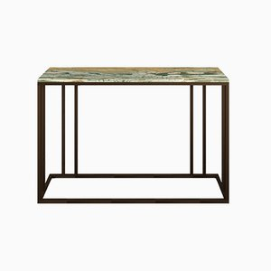 Brass and Marble Elio Console Table by Casa Botelho