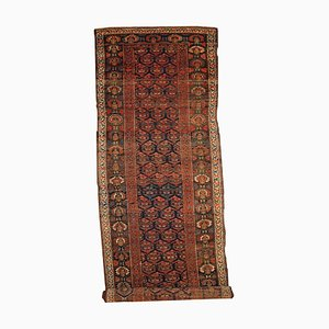Tapis de Couloir Kurde Antique