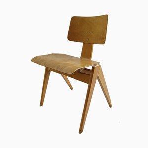 Esszimmerstuhl aus Schichtholz von Robin Day für Hille, 1950er